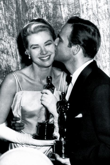 Grace Kelly & Marlon Brando 1955