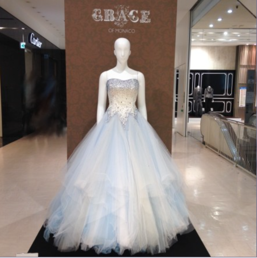 Grace of Monaco Costume Exhibition - featuring Nicole Kidman\'s movie ...