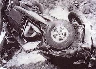 Princess Grace Rover Car Crash