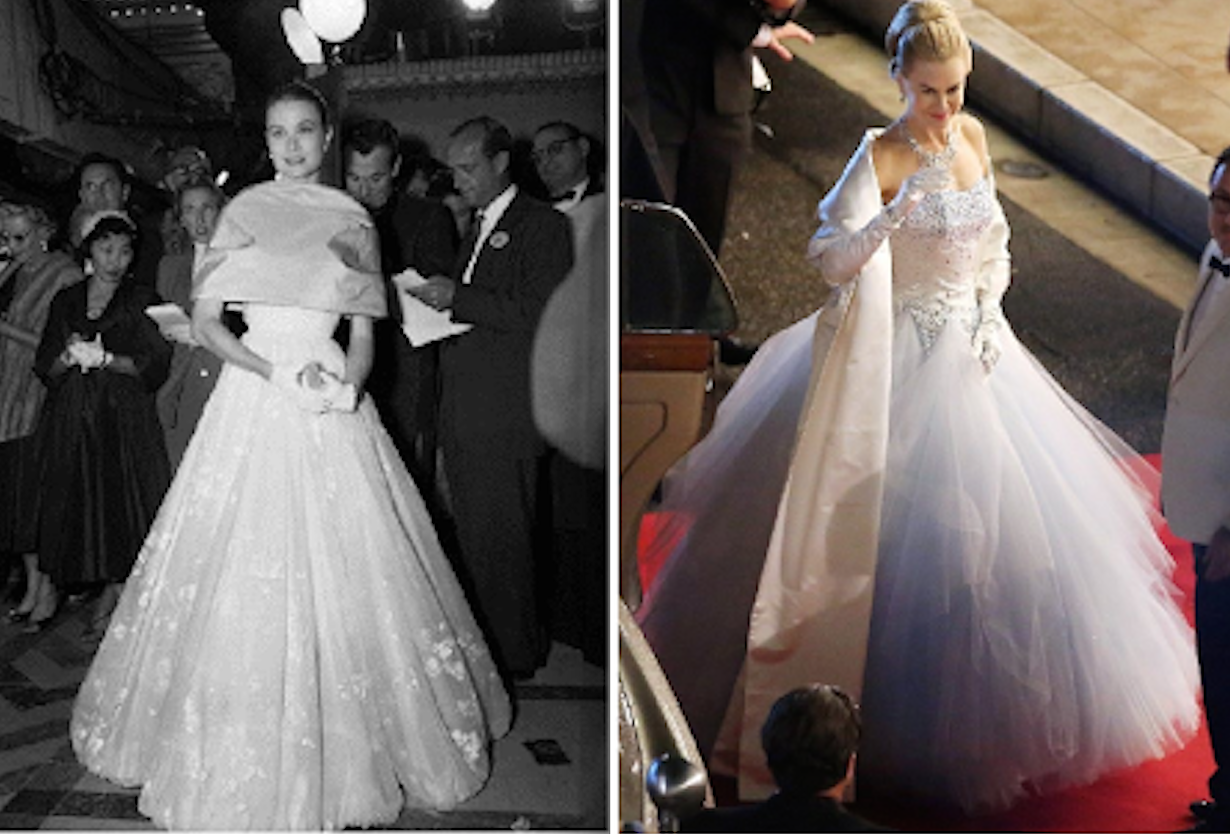 grace kelly inspired dresses