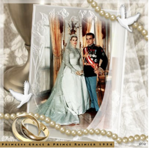 Grace kelly anniversaire de mariage princesse grace amp prince rainier