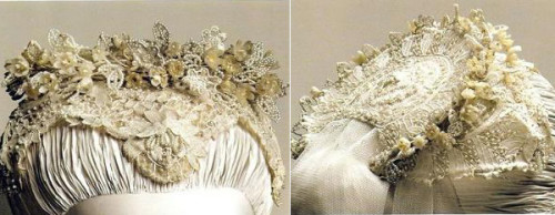 Grace Kelly Bridal Head dress