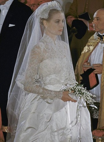 Grace Kelly Wedding Head Dress