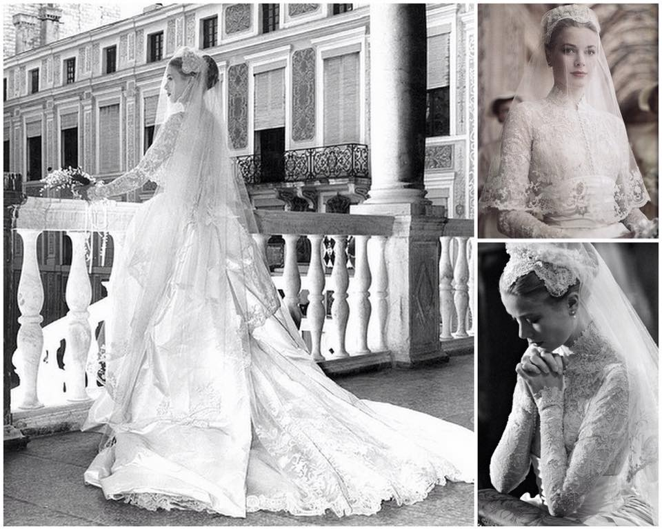 Grace Kelly Wedding Attire