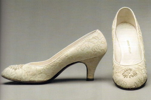 Grace Kelly Wedding Shoes