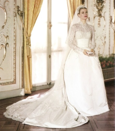 grace kelly wedding ensemble